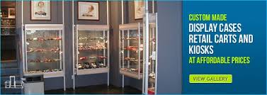 Custom Display Cases Showcases