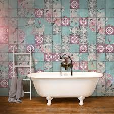 fliesenaufkleber set für küche bad design durch die
