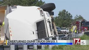 Overturned Dump Truck Closes US 1 In Chatham County - WNCN Dump Truck Driver Electrocuted On The Job Youtube Dump Doritmercatodosco Class B Truck Pretrip Inspection W Instructor Jason Download Driver Sample Resume Diplomicregatta Ford Trucks For Sale N Trailer Magazine Entrylevel Driving Jobs No Experience In Fatal Wake Forest Crash Was Pulling A Heavy Trailer Without Er Equipment Vacuum And More For Sale In Fayetteville Nc Best Resource North Carolina Cdl Local Nc