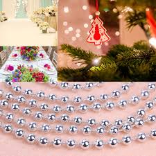 Decorate Christmas Tree Garland Beads by Online Buy Wholesale Beaded Christmas Tree Decorations From China