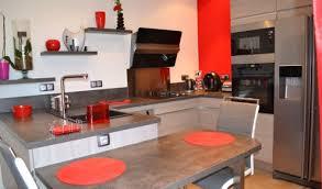 cuisine en u avec table cuisine en u avec table fabulous rnovation de cuisine avec plans