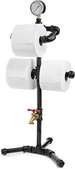 schwarzer toilettenpapierhalter landhaus dekoration badezimmer aufbewahrung 3 rollen toilettenpapierhalter seidenpapierhalter industrielle