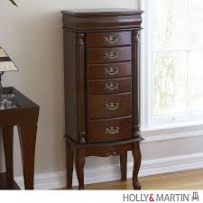 Holly & Martin Amelia Medium Mahogany Jewelry Armoire | My Jewelry ... Fniture Organize Every Piece Of Jewelry In Cool Target 70 Off Wood Armoire For Electronics Storage Home Garden Armoires Wardrobes Find Offers Online And Blackgold Prting Fniture Hdware Handles Knobs Ceramic Pumpkin Gray Haing For Bathroom Decoration Sets Narrow Alone 22 Discount Solid Modern Wardrobe With Sliding Door Armoire With Tv Storage Abolishrmcom Magnolia By Joanna Gaines Office Patina Ggold Print Handle Knob 3 Discount Wood Wardrobe Consumer Reviews Best