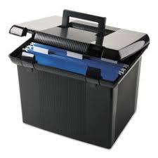 Esselte Portfile Hanging File Box Black fice Ideas