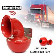 New 12V Metal Red Electric Bull Horn Super Loud Raging Sound W ... New 12v Metal Red Electric Bull Horn Super Loud Raging Sound W 12v Single Snail Tone Air Shell Siren Truck Car Horn Sound Effect Long Youtube Sound Effect Bus Lkw Hupe Sounds Mtb Mountain Road Cycling Bicycle Alarm Bell Bike 1x Auto End 11222018 330 Pm Convoy Horns Diagram Of Parts An Adjustable And Nonadjustable 1 Pair Vehicle In Case Of Fire Use The Air Horn Sign Bracket Buy Air Siren Get Free Shipping On Aliexpresscom Fork Lift Trucks Signs From Key Uk