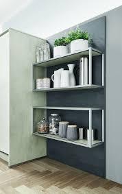 betonküche wie das graue material die küche erobert