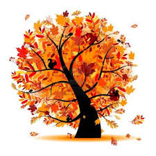 Autumn Tree Clip Art 26