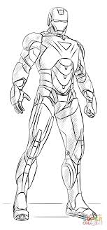 Click The Iron Man Coloring Pages To View Printable