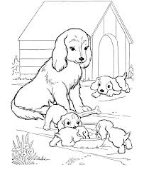 Dogs Coloring Pages To Print