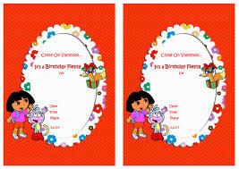 Dora The Explorer Fiesta Kitchen Set by Templates Free Dora Birthday Card