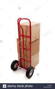 Dolly Handtruck With Boxes Stock Photo: 50737654 - Alamy