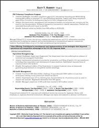 Investment Banking Resume Template Example