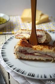 recette roulés croustillants jambon fromage