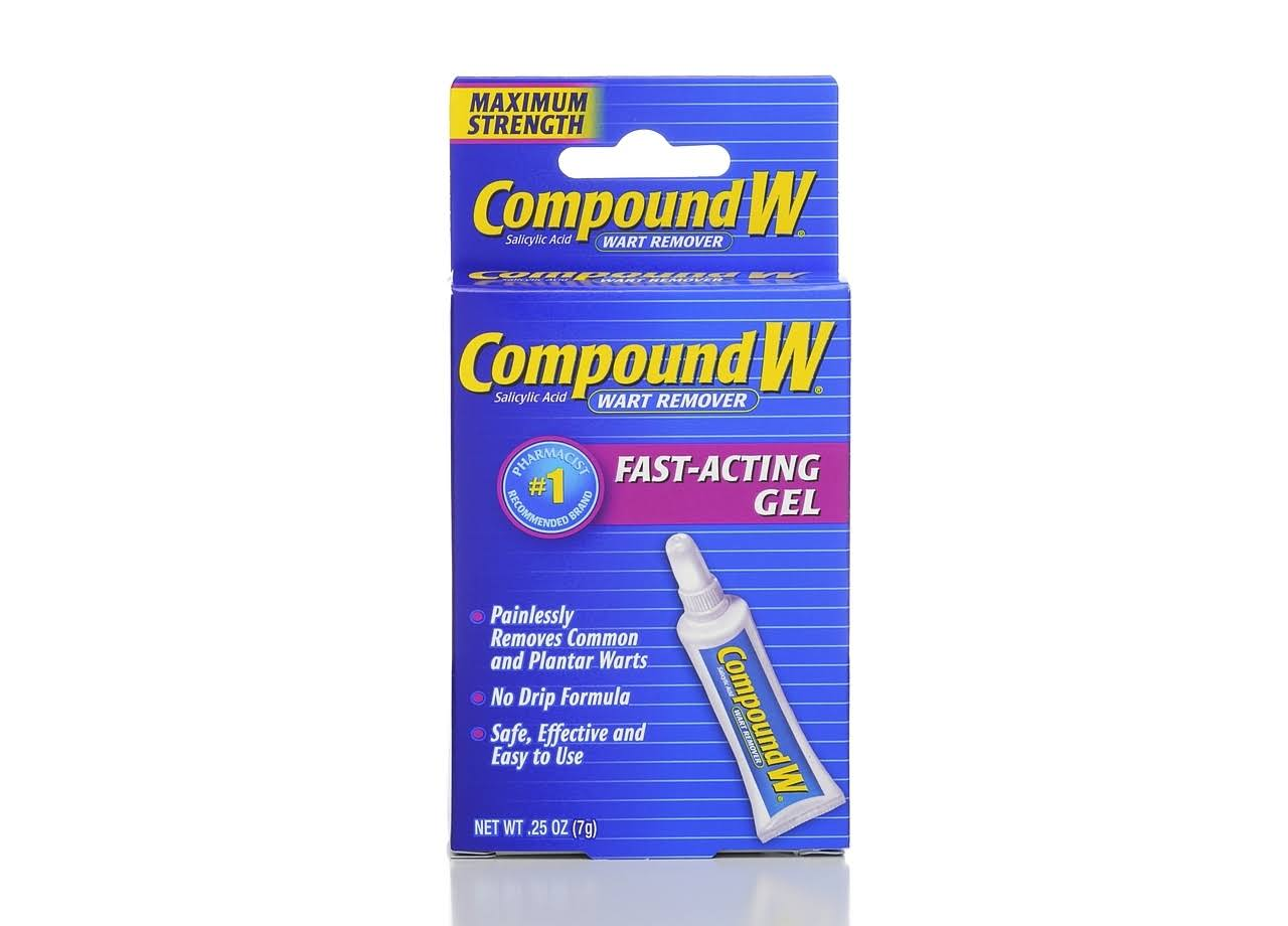 Compound W Wart Remover Maximum Strength Fast Acting Gel - 0.25 oz