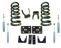 100 Drop Kits For Trucks 9906 GMC Sierra 35 Kit Coil Springs And Shocks