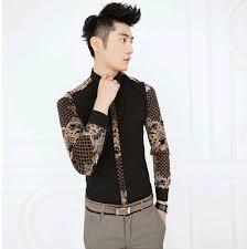 Hot New 2015 Man Fashion Summer Plaid Slim Fit Cotton Casual Dress Shirt Three Quarter Sleeve Mens Designer Clothes Men