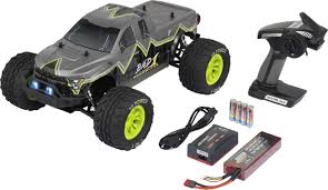 100 Brushless Rc Truck Reely Bad 1 110 RC Model Car Electric Monster