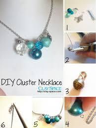 DIY Cluster Necklace Tutorial