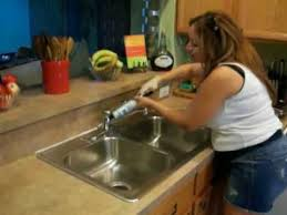 recommendation on how to caulk gaps between the countertop and the