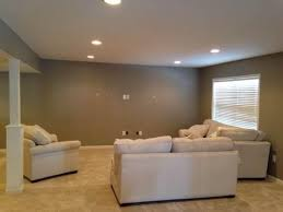 contemporary basement with recessed lighting recessed lighting