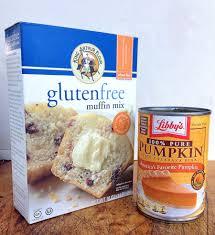 Cake Mix And Pumpkin Puree Muffins by Gluten Free Pumpkin Muffins Flourish King Arthur Flour