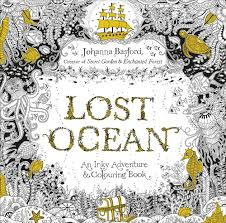 Lost Ocean An Inky Adventure Colouring Book