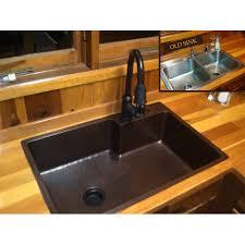 33x22 Single Bowl Kitchen Sink by Basin Kitchen Sink