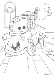 Cars Mater Chevrolet Truck Coloring Page Disney Pages Lightning Mcqueen Printable