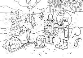 Spongebob Free Coloring Sheets