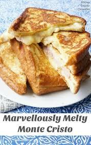 Marvellously Melty Monte Cristo Sandwich