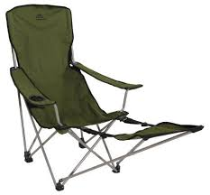 sportline quad fold reclining chair with footrest 100 images
