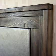 Ana White Headboard Diy by Diy Wood Framed Upholstered Headboard With Nailhead Trim