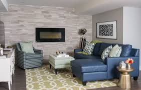Walnut Creek Furniture for a Transitional Basement with a Gallery