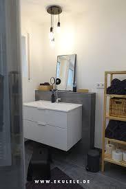 renovierung unseres badezimmers graue fliesen kombiniert