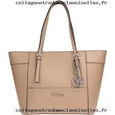femme guess ey453522 sac à femme faux cuir taupe sacs sacs