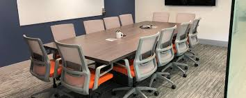 Conference Rooms And Training Rooms Nationwide | Office Evolution Basic Conference Room Stock Photos Products Bos 3101832 Business Cable Chairs Four Meeting Room Alvar Aalto A Table And Four Chairs Model 69 Artek Mid1900s Table With Vintage Stickley Keyhole Trestle And Four Side Chairs Set Of And Office On Concrete Floor 3d Tables Herman Miller Marquis 3x6 Anso Fniture 48 Point Eight Steelcase Kee Square Breakroom Cherry Black 4 M Stack