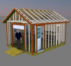 Shed Plans 8x12 Materials by Build Your Perfect Workshop With These 12x16 Gable Shed Plans With