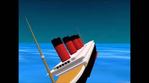rms lusitania 3d sinking animation youtube