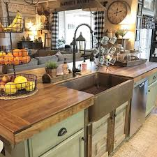 Rustic Kitchen Farmhouse Style Ideas 42 Image Is Part Of 70 That You Must See Gallery Can Read And Another