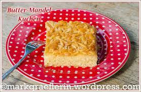 butter mandel kuchen vom blech hefeteig lebensart im