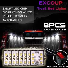 Amazon.com: Truck Bed Light Kit With 48 Super Bright Color White LED ... Truck Bed Lighting Kit 8 Modules Free Installation Accsories Cheap System Find Opt7 Aura 8pc Led Sound Activated Multi Lumen Trbpodblk 8pod Lights Ford F150 Where To Buy 12v White Light Strips For Cars Led Light Deals On Line At Aura Pod Multicolor With Remotes 042014 Rear Tailgate Emblem 2 Tow Hitch Cover White For Chevy Dodge Gmc Ledglow Installation Video Youtube 8pcs Rock Under Body Rgb Control