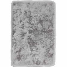 badteppich schöner wohnen bali silber 67 x 110 cm knutzen