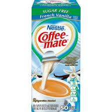NestleR Coffee MateR Creamer Sugar Free French Vanilla