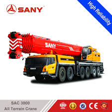 SANY SAC3000 300 Tons Hydraulic Crane Of Truck Mounted Mobile Crane ...