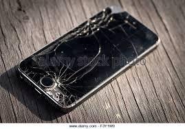 Damaged Apple Iphone Glass Smashed Stock s & Damaged Apple