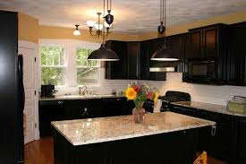 Large Size Of Cabinets Espresso With White Appliances Brown Black Kitchen Color Ideas Oven Stainless Countertop