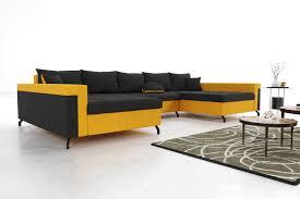 modernes wohnzimmer ecksofa eckcouch sofa mit bettkasten ottomane schlaffunktion su3 g2b gpcos cz100 zo120 1