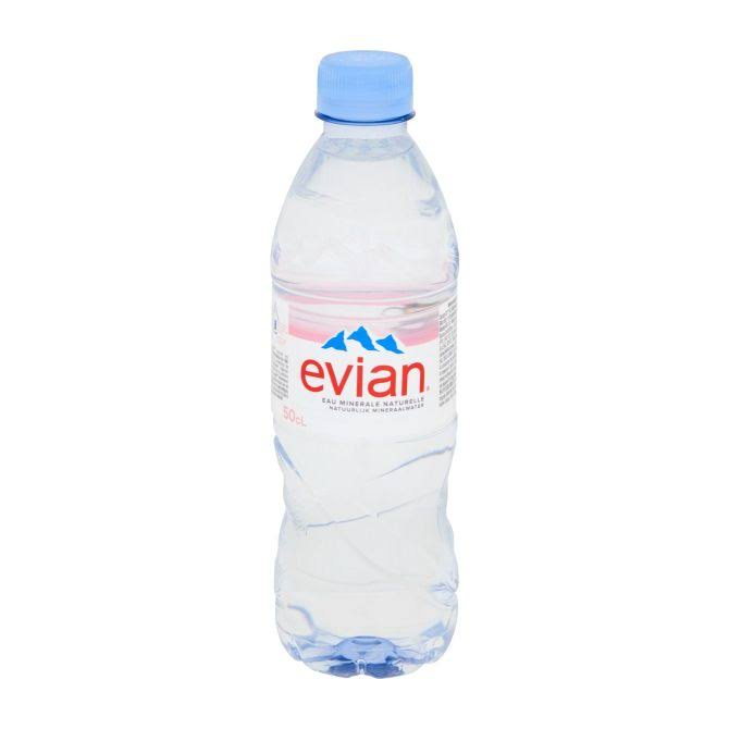 Evian Natural Mineral Water - 50cl