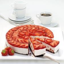 erdbeer knusper torte