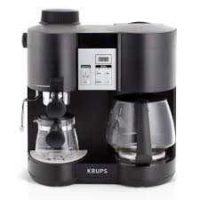 Coffee Maker Krups Xp Combi Steam Espresso Machine Review On Nespresso Pixie